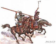Tatar warriors from Kazan