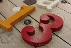 Números y letras para Ángela