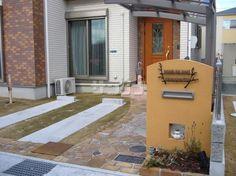 玄関アプローチと駐車場デザイン
