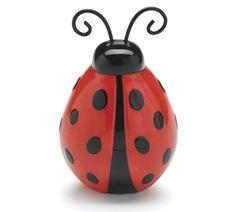 Adorable Lucky Ladybug Flower Vase/Planter For Home Decor
