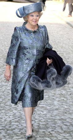 Robe Manteau in jacquardzijde met bijpassende rok