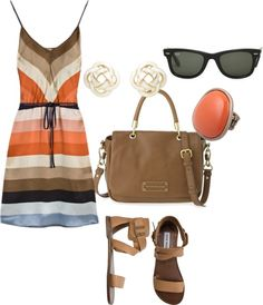 Simple Summer, created by savvvvvanah on Polyvore