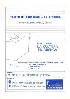 """Taller de Animación a la Lectura de la Biblioteca Pública """"Fermín Caballero"""" de Cuenca Debate sobre """"La cultura en Cuenca"""" #Cuenca #Libros #AnimacionLectura #BibliotecaPublicaCuencaFerminCaballero"""