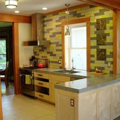 kitchen between two rooms?    Kitchen Combines the Old and New: After image for TOH Reader Remodel Kitchen 2012
