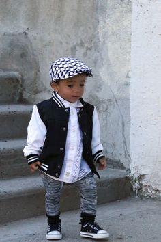 Junior Baby Hatter  #backtoschool  https://www.etsy.com/listing/244431511/flat-cap-hipster-baby-boy-black-white?ref=listing-shop-header-3