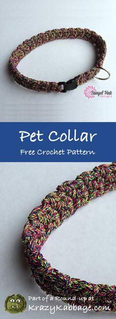 Dog Free Crochet Patterns – Krazykabbage #crochet #freepattern #dog #puppy #craft #diy