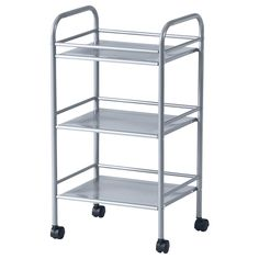 DRAGGAN Carrello - color argento - IKEA