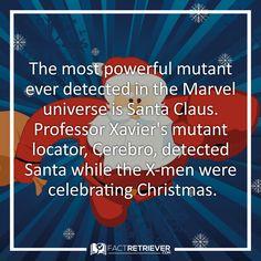 Santa or Magneto? #xmen #facts #christmas