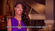 """29 Times """"The Real Housewives Of Atlanta"""" Cast Served Up The Best Shade Housewives Of Atlanta, Real Housewives, Mood Gif, Kenya Moore, Look Here, Reality Tv Shows, Simple Pleasures, Cool Rooms"""