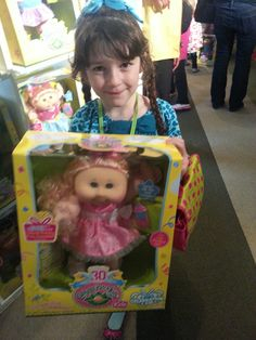 Cabbage Patch Kids are celebrating 30 years!