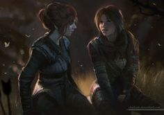 Lara Croft and Sofia shalizeh's DeviantArt gallery