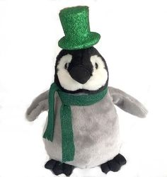 "Patty McWaddles Plush Penguin (12"" Tall)"