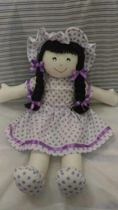 Doll Sewing Patterns, Baby Clothes Patterns, Sewing Dolls, Sewing Tutorials, Barbie Wedding Dress, Doll Tutorial, Felt Toys, Soft Dolls, Doll Crafts