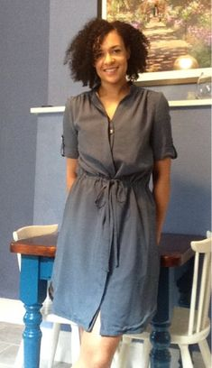 SilkWings: Simplicity 8084 shirt dress by Mimi G