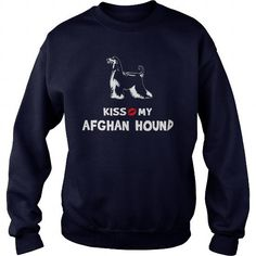 Kiss my Afghan Hound