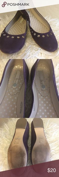 BODEN Purple flats size 7 Worn a few times these are in EXCELLENT condition. dark plum purple flats from BODEN. Size 7, they say 37.5 as euro size but they fit like a true us 7. Boden Shoes Flats & Loafers
