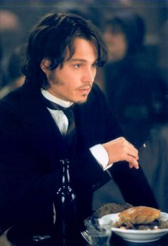 Johnny Depp as Inspector Frederick Abberline in 'From Hell' Johnny Movie, Here's Johnny, Johnny Depp Movies, Hot Actors, Actors & Actresses, Frederick Abberline, Johnny Depp Pictures, Young Johnny Depp, Jonny Deep