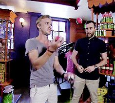 Here's a gif of Neville watching Malfoy juggle because nothing else matters