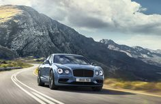 """Bentley""""s Flying Spur is now a tad faster thanks to a new W12 S range-topper. In fact, the model is the first four-door Bentley with a top speed in excess of 200 mph. Due to debut later this month at the 2016 Paris auto show, the Flying Spur W12 S features the familiar twin-turbocharged..."""