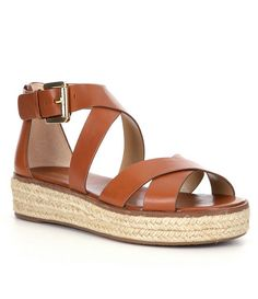 ed096146259 MICHAEL Michael Kors Darby Platform Sandals  Dillards Types Of Sandals