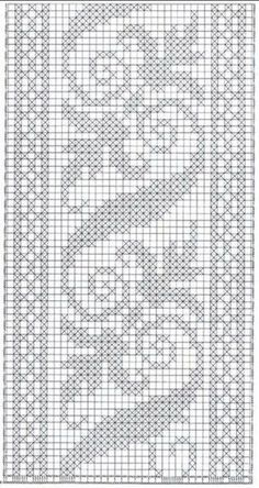 Trendy crochet paso a paso puntos ideas Tiny Cross Stitch, Cross Stitch Bookmarks, Cross Stitch Borders, Cross Stitch Flowers, Cross Stitching, Cross Stitch Embroidery, Cross Stitch Patterns, Knitting Patterns, Crochet Patterns