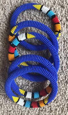 Beaded African Bangles| Zulu Jewelry| Maasai Jewelry| Beaded Bracelets| Colorful Bracelets| Kenyan Jewelry| African Jewelry| Gifts For wife/