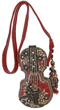 Mary Frances - Floral Violin