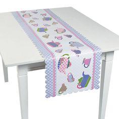 Tea Party Table Runner - OrientalTrading.com