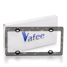 Yoshine Our products are environmental-friendly. We try to make our lives simpler , more elegant and comfortable and supply articles of everyday use to consumers around the world. Due to big demand, the Vafee Handmade License Plate Frames have been launched and are being sold on Amazon. This... see more details at https://bestselleroutlets.com/automotive-parts-accessories/product-review-for-license-plate-frame-sparkly-crystal-bling-license-plate-frame-with-7-row-handmade-wate