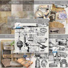 Cu Vol 262 to 266 Travel by Florju Designs #CUdigitals cudigitals.com cu commercial digital scrap #digiscrap scrapbook graphics