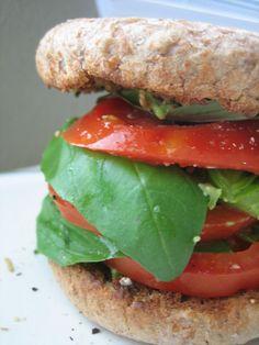 Tomato Basil Stackers