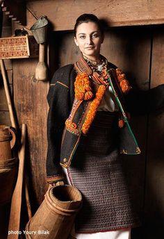 Hutsul girl, W Ukraine,foto by Y Bilak, from Iryna with love