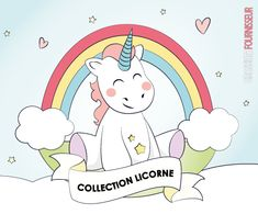 Licorne magique Flower Unicorn Collection porte-monnaie licorne premium quality made in Europe 2018