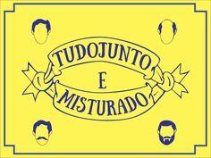 Logotipo e Identidade visual criada para campanha Tudo Junto e Misturado.
