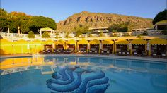 Poolside at The Phoenician Resort