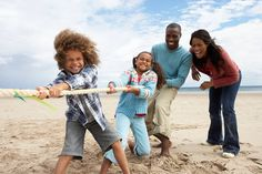 Beach Fun - family fun at the beach. Classic summer beach games to play with the whole family!
