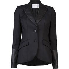 FLAVIO CASTELLANI Detailed blazer ❤ liked on Polyvore