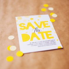 Free printable Save The Date cards | Best Day Ever