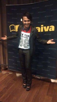 CAINHO ATREVIDO: Look do Dia #BlogueiroSolidário
