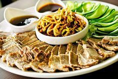 Korean food is unique, colorful and full of flavor. Korean food is typically prepared in a way that makes it easy to eat using chopsticks or a spoon and most westerners to Korea quickly fall in love with many of the common dishes listed above.