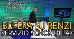 NOTIZIE IN MOVIMENTO: BUFERA SU RENZI! SERVIZIO SCHOK MANDATO IN ONDA DA...
