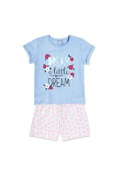 Pijama Infantil Menina Que Brilha No Escuro