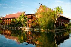 Disney Resort Hotels, Disney's Polynesian Resort - Exterior, Walt Disney World Resort