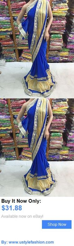 Cultural and ethnic clothing: Bollywood Indian Party Wear Pakistani Designer Women Bridal Wedding Sari 104 BUY IT NOW ONLY: $31.88 #ustylefashionCulturalandethnicclothing OR #ustylefashion