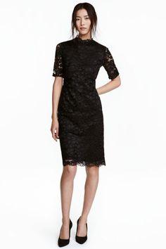 Vestido de encaje - Negro - MUJER | H&M ES 1