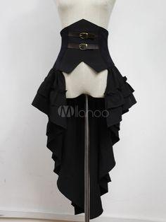 Gothic Lolita Corset Skirt Night Of Seraph Gothic Steampunk Lolita Accessory & Costumes > Lolita Specials > Lolita Dresses > Lolita Skirts Gothic Mode, Gothic Lolita, Gothic Girls, Lolita Fashion, Gothic Fashion, Emo Fashion, Anime Outfits, Fashion Outfits, Men's Outfits