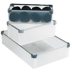 Viola Drawer Organizers: Another idea for storing the trains. Check the measurements.