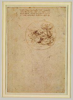 Allegorical Design (recto), Stage Design (verso) - Leonardo da Vinci (Italian, 1452–1519)  c.1496 The Metropolitan Museum of Art