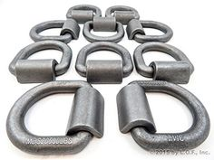10 Weld on 34 D Rings  Built Tough for Flatbed Trailers *** Continue to the product at the affiliate link Amazon.com.