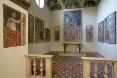 Cappella di San Giuseppe e dipinti lombardi del XVI secolo. #pinacotecabrera